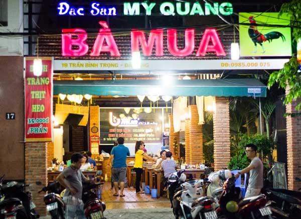 Một số địa chỉ ăn uống ngon Đà Nẵng không nên bỏ lỡ